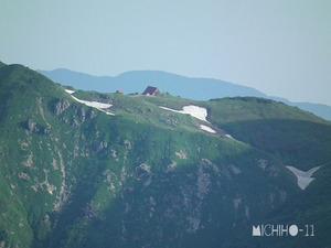 朝日岳小屋