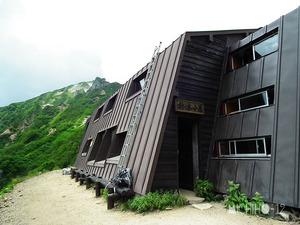 針の木小屋